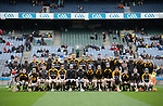 The Ballyea team before the All-Ireland Club Hurling Final against Cuala at Croke Park. Photograph by John Kelly.