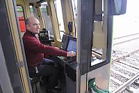 - Milan, ATM (Azienda Trasporti Milanesi), driver of a train on Metro Line 2....- Milano, ATM (Azienda Trasporti Milanesi), conducente di un treno sulla linea 2 della Metropolitana