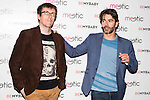 """The director of the film """"Nuestros Amantes"""", Miguel Angel Lamata and spanish actor Eduardo Noriega attend to give a Seduction Master Class in Madrid. June 04. 2016. (ALTERPHOTOS/Borja B.Hojas)"""