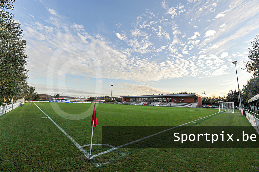 PGB Stadium pictured during a female soccer game between  AA Gent Ladies and Eendracht Aalst on the second matchday of the 2020 - 2021 season of Belgian Scooore Womens SuperLeague , friday 4 th of september 2020  in Oostakker , Belgium . PHOTO SPORTPIX.BE | SPP | STIJN AUDOOREN