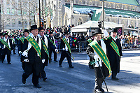 Defile de la Saint-Patrick, 19 mars 2017<br /> <br /> PHOTO : Agence Quebec Presse