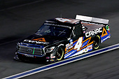 CONCORD, NORTH CAROLINA - MAY 26: Raphael Lessard, driver of the #4 Canac Toyota, drives during the NASCAR Gander Outdoors Trucks Series North Carolina Education Lottery 200 at Charlotte Motor Speedway on May 26, 2020 in Concord, North Carolina. (Photo by Chris Graythen/Getty Images)