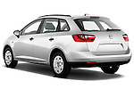 Rear three quarter view of 2010 Seat Ibiza ST 5 Door Wagon Stock Photo