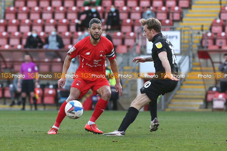 Jobi McAnuff of Leyton Orient during Leyton Orient vs Port Vale, Sky Bet EFL League 2 Football at The Breyer Group Stadium on 20th February 2021