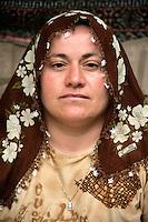 Anatolian woman in Goreme village, Cappadocia, Turkey