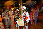 Drummers led the procession at the UNICEF Mystique of India gala at the InterContinental Hotel Saturday Sept. 27,2008.(Dave Rossman/For the Chronicle)