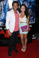 """LOS ANGELES, CA, USA - APRIL 16: Corbin Bleu, Sasha Clements at the Los Angeles Premiere Of Open Road Films' """"A Haunted House 2"""" held at Regal Cinemas L.A. Live on April 16, 2014 in Los Angeles, California, United States. (Photo by Xavier Collin/Celebrity Monitor)"""