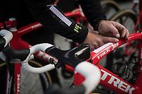 getting the bikes race-ready<br /> <br /> 103rd Liège-Bastogne-Liège 2017 (1.UWT)<br /> One Day Race: Liège › Ans (258km)