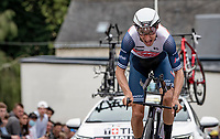 Bauke Mollema (NED/Trek-Segafredo)<br /> <br /> Stage 5 (ITT): Time Trial from Changé to Laval Espace Mayenne (27.2km)<br /> 108th Tour de France 2021 (2.UWT)<br /> <br /> ©kramon