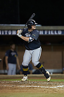Brady Garrison (35) (Marshall University) of the Wilson Tobs at bat against the High Point-Thomasville HiToms at Finch Field on July 17, 2020 in Thomasville, NC. The Tobs defeated the HiToms 2-1. (Brian Westerholt/Four Seam Images)