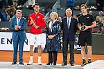 XXX during  TPA Finals Mutua Madrid Open Tennis 2016 in Madrid, May 08, 2016. (ALTERPHOTOS/BorjaB.Hojas)