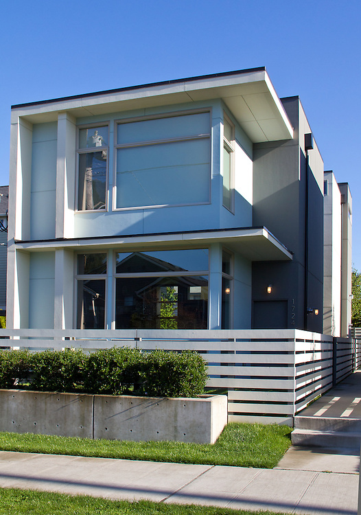 Seattle, Ballard, new cottage houses by Playhouse Design Group, Paul Pierce, architect,