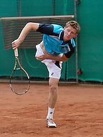 2013-08-17, Netherlands, Raalte,  TV Ramele, Tennis, NRTK 2013, National Ranking Tennis Champ,  Jannick Lupescu<br /> <br /> Photo: Henk Koster