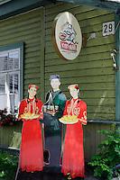 Karäisches Restaurant in Trakai, Litauen, Europa