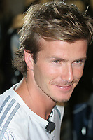 06-02-2005<br /> SOCCER SUPERSTAR DAVID BECKHAM AND ADIDAS TO UNVEIL HIS NEW PREDATOR PULSE BOOT AND PREDATOR PRODUCT LINE. ADIDAS SPORT PERFORMANCE STORE, NEW YORK CITY<br /> Photo By John Barrett/PHOTOlink