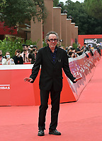 US director Tim Burton poses on the red carpet as he arrives to receive a Lifetime Achievement Award, at the 16th edition of the Rome Film Fest in Rome, on October 23, 2021.<br /> UPDATE IMAGES PRESS/Isabella Bonotto