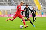 v.li.: Jann-Fiete Arp (Bayern München, FCB, 9) Redondo Hussein (Kaiserslautern, 11) Zweikampf, Duell, duel, tackle, Dynamik, Action, Aktion beim Spiel in der 3. Liga, FC Bayern München II -1. FC Kaiserslautern.<br /> <br /> Foto © PIX-Sportfotos *** Foto ist honorarpflichtig! *** Auf Anfrage in hoeherer Qualitaet/Aufloesung. Belegexemplar erbeten. Veroeffentlichung ausschliesslich fuer journalistisch-publizistische Zwecke. For editorial use only. DFL regulations prohibit any use of photographs as image sequences and/or quasi-video.