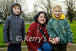 Enjoying a stroll in the Tralee town park, l to r: Mickeloy,  Malgorzata and Yan Kroczak.
