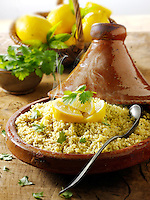 Lemon and coriander couscous