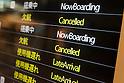 Flights cancelled as Typhoon Malakas slams Japan