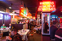 Acme Oyster Bar inside, New Orleans, Louisiana