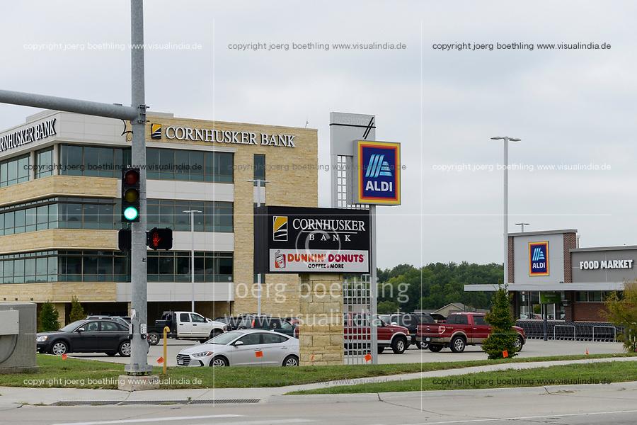USA, Nebraska, Lincoln, Aldi Food Market, Supermarket, a branch of german Aldi Brothers