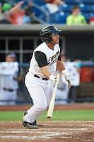 Quad Cities River Bandits catcher Christian Correa (9) at bat during a game against the Bowling Green Hot Rods on July 24, 2016 at Modern Woodmen Park in Davenport, Iowa.  Quad Cities defeated Bowling Green 6-5.  (Mike Janes/Four Seam Images)