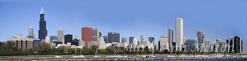 Chicago's Panoramic skyline