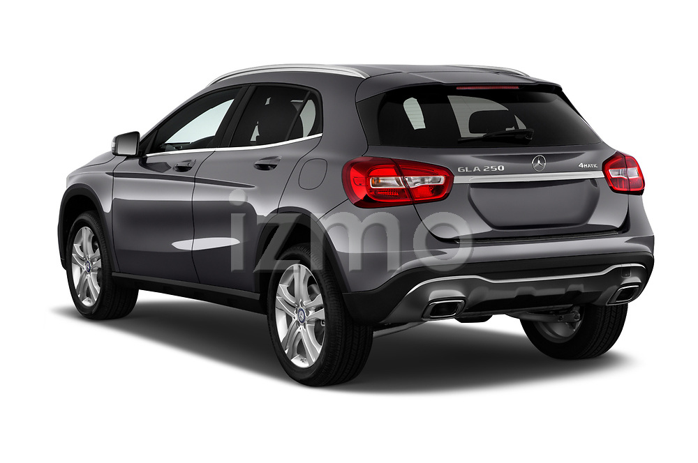 Car pictures of rear three quarter view of a 2018 Mercedes Benz GLA Base 5 Door SUV angular rear