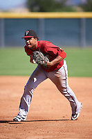 Arizona Diamondbacks Ramon Hernandez (22) during an Instructional League game against the Colorado Rockies on October 7, 2016 at Salt River Fields at Talking Stick in Scottsdale, Arizona.  (Mike Janes/Four Seam Images)
