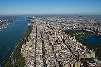 aerial photograph Upper West Side, Manhattan, New York City