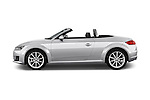Car Driver side profile view of a 2016 Audi TT-Roadster - 2 Door Convertible Side View