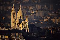 Europe/France/Ile-de-France/Paris: Montmartre et le Sacré Coeur vus depuis la Tour Montparnasse