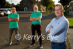 Members of the organising committee of the Tralee Half Marathon which will be held on Sunday October 24th in Tralee. Front right: Jim Mc Neice. Back l to r: William Brick and Martin Brosnan.