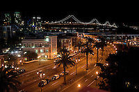 SAN FRANCISCO, CA--San Francisco skyline at the inaugural Kraft Fight Hunger Bowl at AT&T Park in San Francisco, CA.