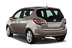 Car pictures of rear three quarter view of2014 Opel MERIVA Cosmo 5 Door Mini MPV 2WD Angular Rear