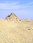 Pyramid at the Egyptian burial ground of Sakkara near Cairo, Egypt.
