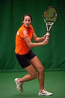29-1-10, Almere, Tennis, Training Fedcup team, Chayenne Ewijk