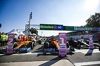 03 RICCIARDO Daniel aus, McLaren MCL35M, winner, 03 RICCIARDO Daniel aus, McLaren MCL35M, 77 BOTTAS Valtteri fin, Mercedes AMG F1 GP W12 E Performance, action during the Formula 1 Heineken Gran Premio D italia 2021, Italian Grand Prix, 14th round of the 2021 FIA Formula One World Championship, WM, Weltmeisterschaft from September 9 to 12, 2021 on the Autodromo Nazionale di Monza, in Monza, Italy FORMULE 1 : Grand prix d Italie - Monza - 12/09/2021 DPPI/Panoramic