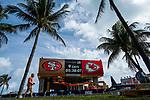 Super Bowl XLIV preparations in Miami