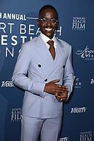 Ncuti Gatwa<br /> arriving for the Newport Beach Film Festival UK Honours 2020, London.<br /> <br /> ©Ash Knotek  D3551 29/01/2020