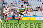 Jack Sherwood, Kerry in action against Niall Sludden, Tyroneduring the All Ireland Senior Football Semi Final between Kerry and Tyrone at Croke Park, Dublin on Sunday.