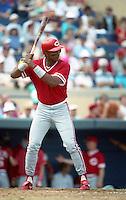 Cincinnati Reds Cecil Espy (22) during Spring Training 1993 at Joker Marchant Stadium in Lakeland, Florida.  (MJA/Four Seam Images)