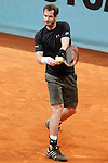 Andy Murray, Great Britain, during Madrid Open Tennis 2015 match.May, 7, 2015.(ALTERPHOTOS/Acero)