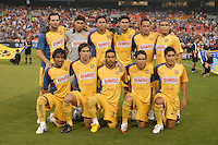 Club America Starting Eleven. DC United defeated Club America 1-0 to secure one of the two semifinal berths in SuperLiga group B, at RFK Stadium in Washington DC, Sunday July 29, 2007.