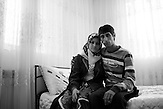 Djamal Sirakov and Fatme Ulanova are staying together as husband and wife, after their wedding night.