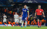 during the UEFA Champions League Group G match between Chelsea and Dynamo Kyiv at Stamford Bridge, London, England on 4 November 2015. Photo by Andy Rowland.