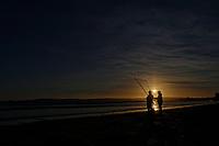 2021 02 26 Sunset at Swansea Bay, Wales, UK