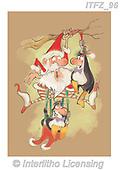 Fabrizio, Comics, CHRISTMAS SANTA, SNOWMAN, WEIHNACHTSMÄNNER, SCHNEEMÄNNER, PAPÁ NOEL, MUÑECOS DE NIEVE, paintings+++++,ITFZ96,#x#