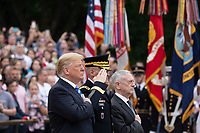 President Donald J. Trump particiaptes in a Memorial Day Ceremony | May 28, 2018 (Official White House Photo by Andrea Hanks)